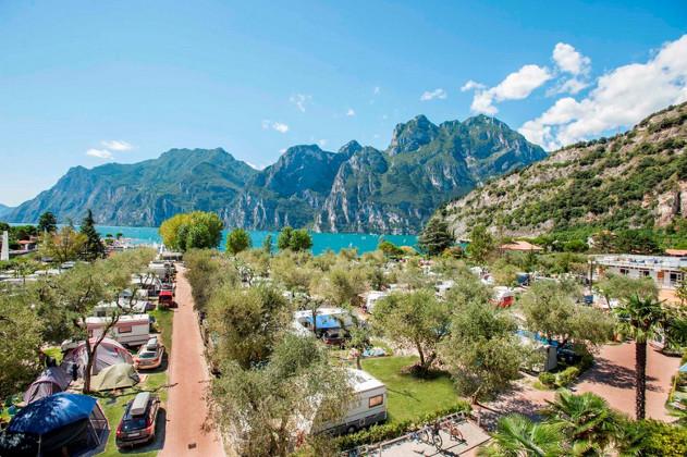 Sosta camper sul Lago di Garda